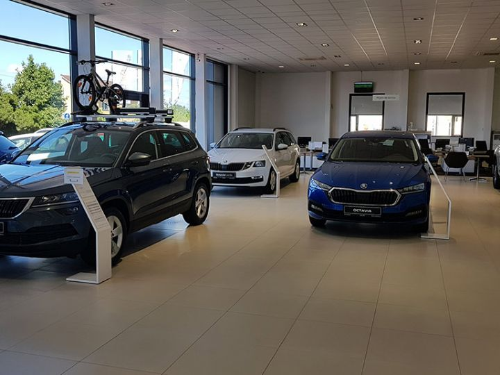Showroom ŠKODA
